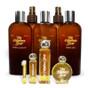 8 Ounce Bath & Body Collection: Body Lotion, Dry Body Oil, Aftershave Balm, Body Spritz, Bath Gel  -  Perfume Oil Sizes: 1 Mililiter Sample, 1/4 Ounce, 1 Ounce, 1/2 Ounce