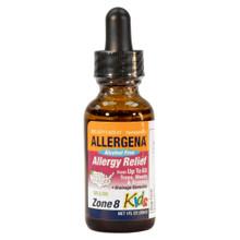 Alcohol Free Allergena Zone 8 for Kids. 1oz. Bottle