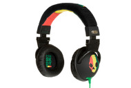Skullcandy Hesh Rasta Mic'd Over Ear Headphones