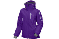 Salomon Sideways 3L Womens Jacket- Purple Pop