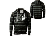 Dragon Level Strip Zip Hoodie Sweatshirt