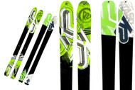 K2 Sidestash Snow Skis 2011