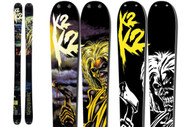 K2 Iron Maiden Revival Skis 2012