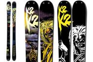 K2 Iron Maiden Revival Skis 2012