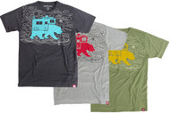 Spacecraft Bear Camper Tshirt