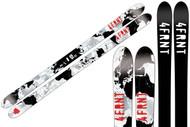 4frnt TNK Signature Series Junior Skis 2011-145cm