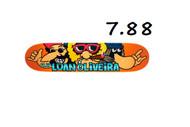 Flip Luan Oliviera Classic Skateboard Deck 7.88