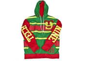 Technine Rugby Full Zip Hooded Sweatshirt