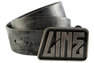 Line Skis Black Leather Belt-2012