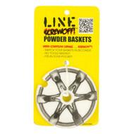 Line Screwoff! Powder Replacement Ski Pole Baskets