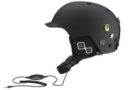 Salomon Brigade Audio Helmet Black 2012