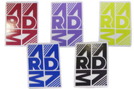 Armada 4in Rectangle Sticker 2012