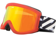 Sabre Lone Rider Goggles 2012 -Red Gel