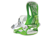 Rome Strut Women's Snowboard Binding 2012 - Green Small/Medium