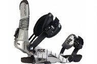 Ride Rodeo Snowboard Bindings 2012 - Chrome Large