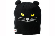 Elm Wildlife Cat Black Beanie