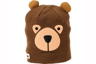 Elm Wildlife Bear Brown Beanie