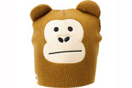 Elm Wildlife Monkey Brown Beanie