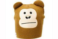 Elm Wildlife Monkey Brown Beanie
