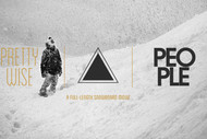 "People Films ""Pretty Wise"" Snowboard DVD"
