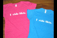SPX I Ride Skis Women's Tshirt 2013