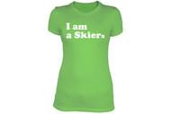 Line Skier Forever Women's Tshirt 2013