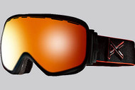 Anon Insurgent Black Emblem Goggle with Red Solex Lens 2013