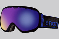 Anon Insurgent Black Goggle with Blue Solex Lens 2013