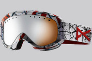 Anon Helix 9 Volt Goggle with Silver Amber Lens 2013