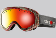 Anon Youth Tracker Bonzai Goggle with Red Amber Lens 2013