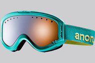 Anon Youth Tracker Minty Fresh Goggle with Blue Amber Lens 2013