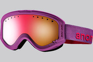 Anon Youth Tracker Wild Berry Goggle with Pink Amber Lens 2013