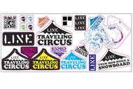 Line TC Sticker Sheet 2014