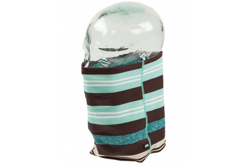 Turquoise Heather Stripe