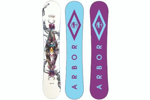 Arbor Poparazzi Women's Snowboard 2014 (AR1005-14)