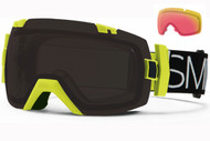 Smith I/OX Goggle-Acid Blockhead with Blackout and Red Sensor Lenses 2014