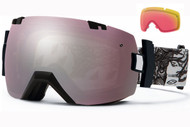 Smith I/OX Goggle-Abma Lifetree with Ignitor and Red Sensor Lenses 2014