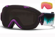Smith I/OS Goggle-Violet Ombre with Blackout and Red Sensor Lenses 2014