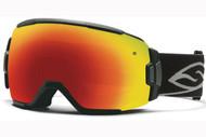 Smith Vice Goggle-Black with Red Sol-x Lens 2014