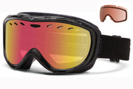 Smith Cadence Women's Goggle-Black Danger with Red Sensor and RC36 Lenses 2014