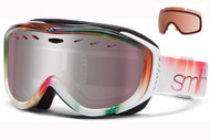 Smith Cadence Women's Goggle-White Ombre with Ignitor and RC36 Lenses 2014