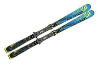 Salomon 24 Hours Pro Skis with Z10 Bindings 2014