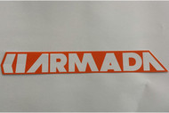 Armada 12in Logo Sticker 2014