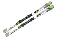 Fischer Hybrid 7.5 TI Powerrail Skis with Integrated Bindings 2014