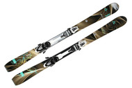 Fischer KOA 75 Women's Skis with Integrated Bindings 2014