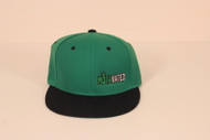 CYL Motavated Green/Black Snapback Hat 2014
