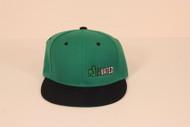 CYL Motavated Green/Black Snapback Hat 2014