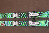 Line Future Spin used Skis with Marker Griffon Demo Bindings 2014