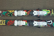 Armada THall Tanner Hall Used Skis with Marker Bindings 2014