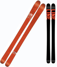 Line Supernatural 92 Lite Skis 2015